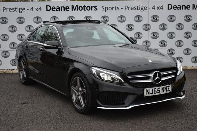 2015 65 MERCEDES-BENZ C-CLASS 2.1 C220 BLUETEC AMG LINE PREMIUM PLUS 4d 170 BHP PANROOF
