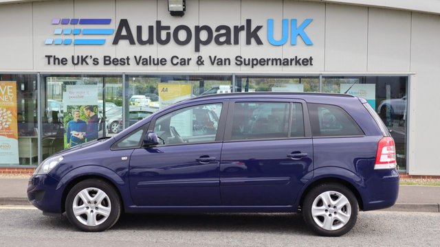 USED 2012 12 VAUXHALL ZAFIRA 1.6 EXCLUSIV 5d 113 BHP . LOW DEPOSIT OR NO DEPOSIT FINANCE AVAILABLE . COMES USABILITY INSPECTED WITH 30 DAYS USABILITY WARRANTY + LOW COST 12 MONTHS USABILITY WARRANTY AVAILABLE FOR ONLY £199 (DETAILS ON REQUEST). ALWAYS DRIVING DOWN PRICES . BUY WITH CONFIDENCE . OVER 1000 GENUINE GREAT REVIEWS OVER ALL PLATFORMS FROM GOOD HONEST CUSTOMERS YOU CAN TRUST .
