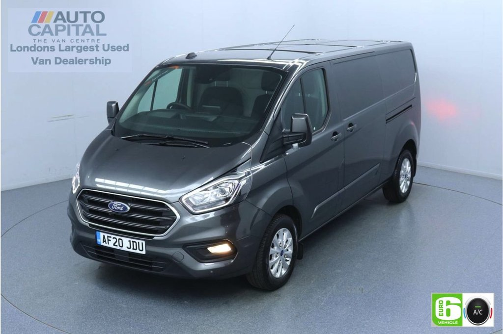 USED 2020 20 FORD TRANSIT CUSTOM 2.0 300 Limited EcoBlue 130 BHP L2 H1 Euro 6 Low Emission Eco Mode   Auto Start-Stop   Front and rear parking distance sensors