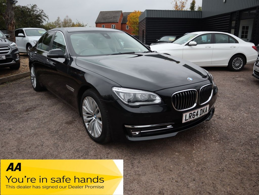 USED 2014 64 BMW 7 SERIES 3.0 730D SE EXCLUSIVE 4d 255 BHP LOW MILES WITH £4455 WORTH OF FACTORY FITTED EXTRAS