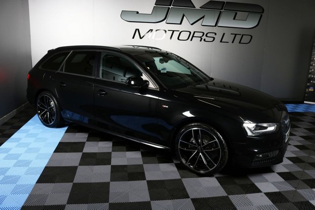 USED 2013 AUDI A4 2013 AUDI A4 2.0 TDI S LINE BLACK EDITION 141 BHP AVANT (FINANCE AND WARRANTY)