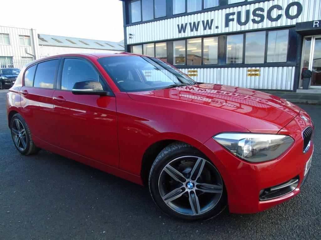 USED 2012 BMW 1 SERIES 1.6 116I SPORT 5d 135 BHP £145 a month, T&Cs apply.