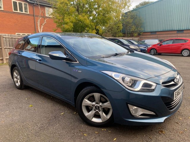 USED 2012 62 HYUNDAI I40 1.7 CRDI ACTIVE BLUE DRIVE 5d 114 BHP BLUETOOTH, HEATED MIRRORS