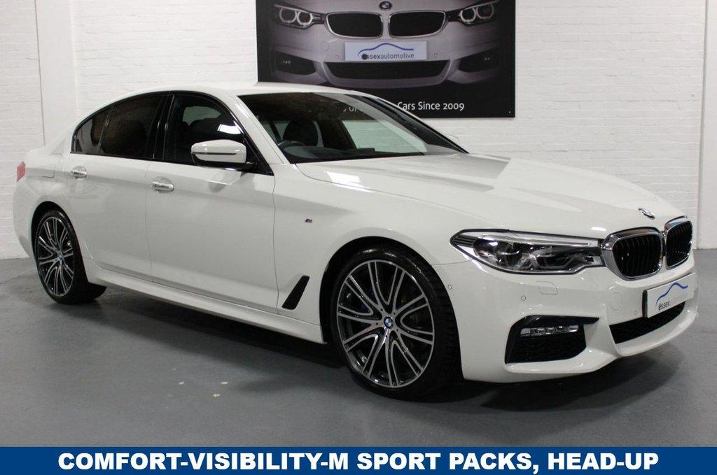 USED 2018 68 BMW 5 SERIES 530d M Sport 4dr Step Auto Big Spec