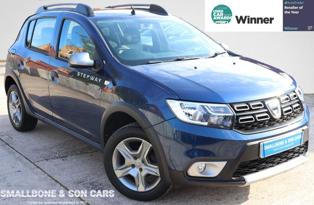USED 2017 66 DACIA SANDERO 0.9 STEPWAY AMBIANCE TCE 5d 90 BHP * BUY ONLINE * FREE NATIONWIDE DELIVERY *