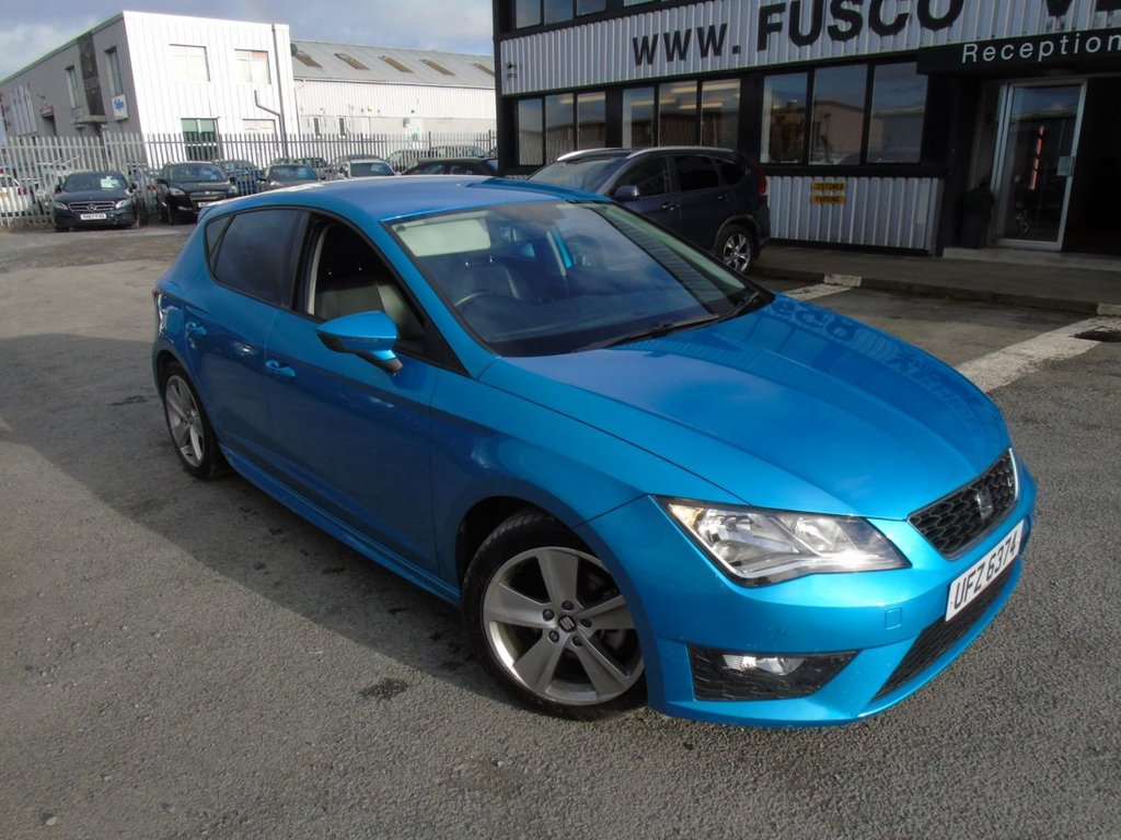 USED 2014 SEAT LEON 1.4 TSI FR 5d 150 BHP £189 a month, T&C's apply.