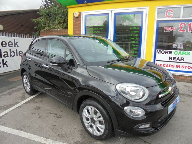 USED 2015 15 FIAT 500X 1.4 MULTIAIR POP STAR 5d 140 BHP £0 DEPOISIT FINANCE DEALS AVAILABLE