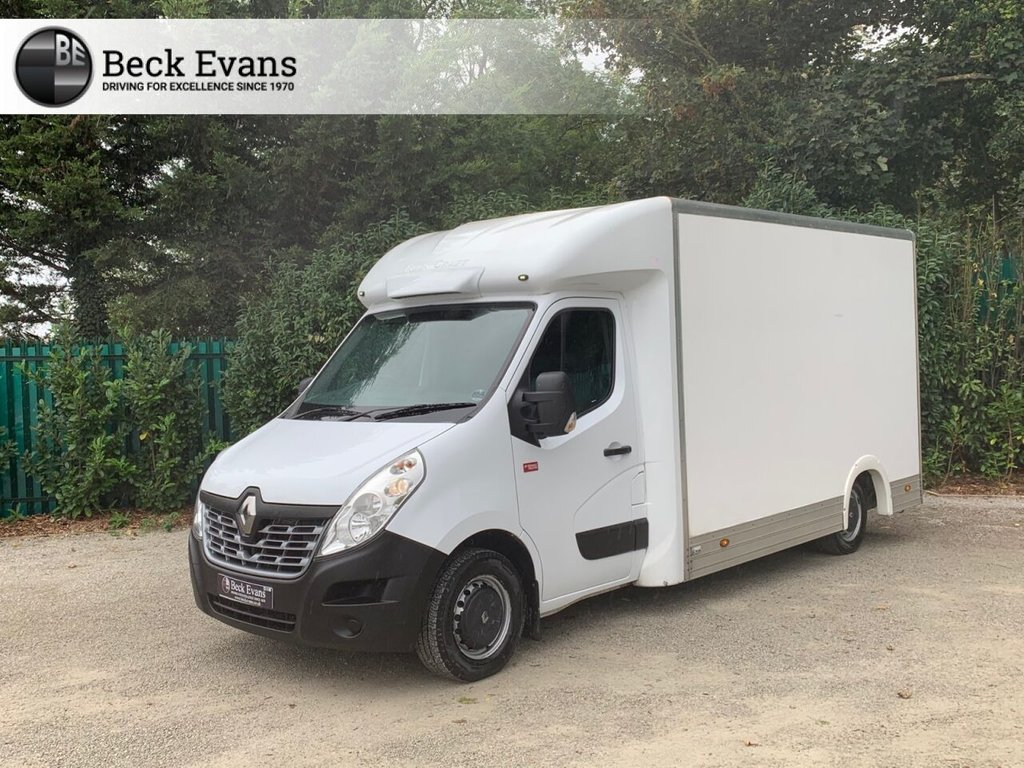 USED 2018 68 RENAULT MASTER 2.3 35 L3H2 P/C 129 BHP LOW LOADER REFRIDGERATED VEHICLE