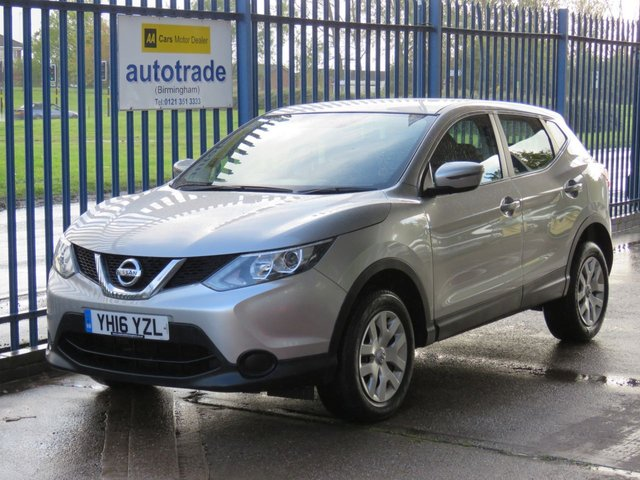 USED 2016 16 NISSAN QASHQAI 1.2 VISIA DIG-T 5d 113 BHP Ulez Compliant, A/C 1 owner, Nissan History. 1 OWNER, NISSAN SERVICE HISTORY, AIR CONDITIONING, BLUETOOTH, CRUISE CONTROL,