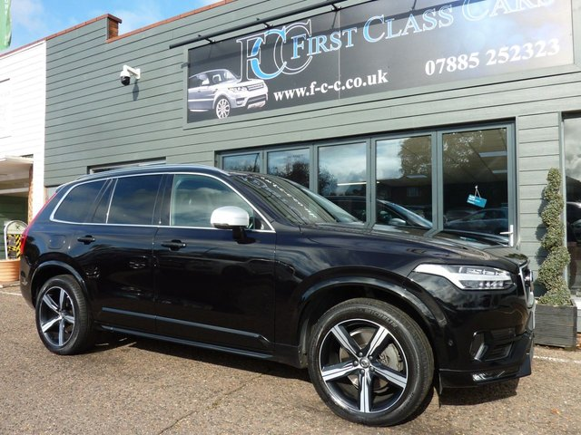 2017 67 VOLVO XC90 2.0 D5 POWERPULSE R-DESIGN AWD 5d 231 BHP