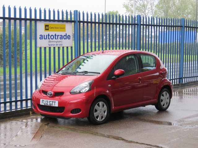 USED 2012 12 TOYOTA AYGO 1.0 VVT-I ICE MM 5d 68 BHP Rare Automatic with low miles and service history