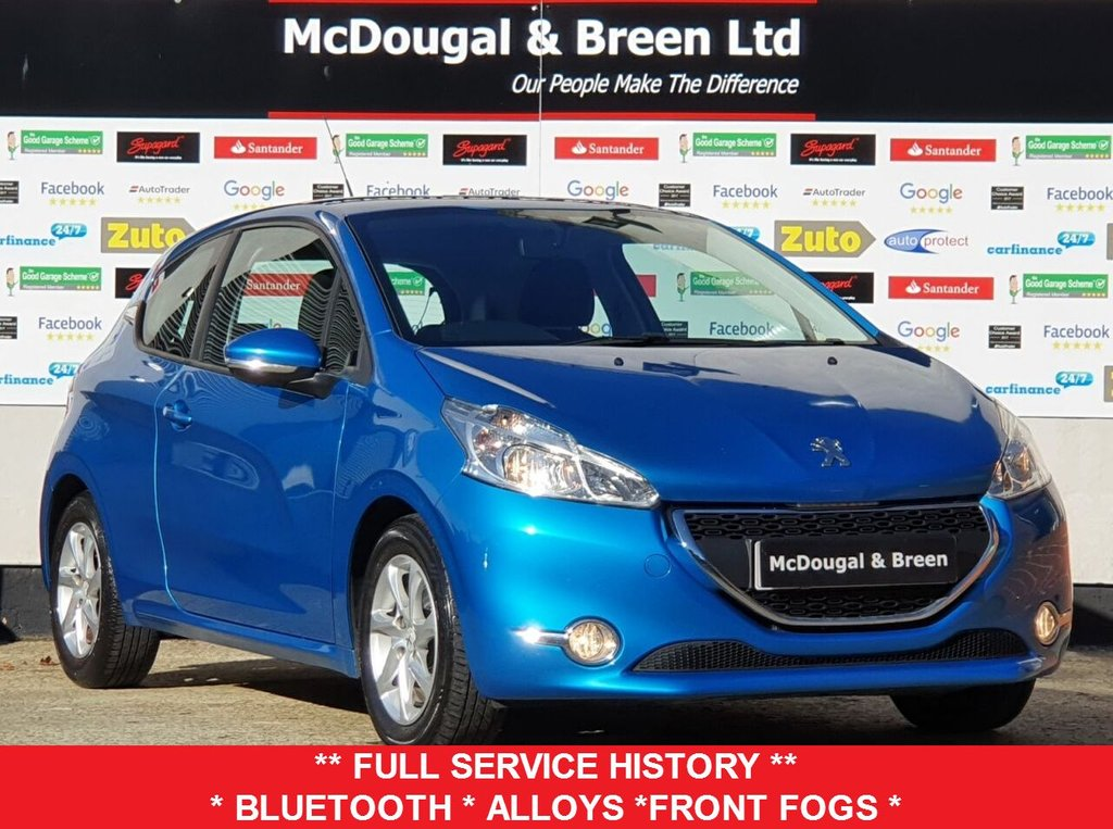 USED 2012 62 PEUGEOT 208 1.4 ACTIVE 3d 95 BHP
