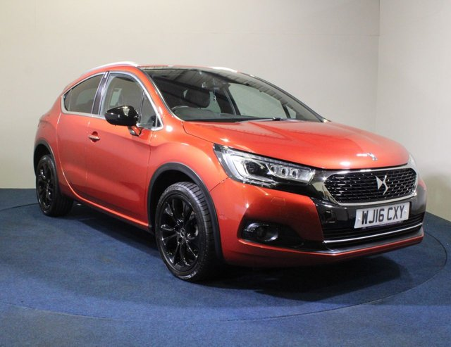 USED 2016 16 DS DS 4 1.2 PURETECH CROSSBACK S/S 5d 130 BHP