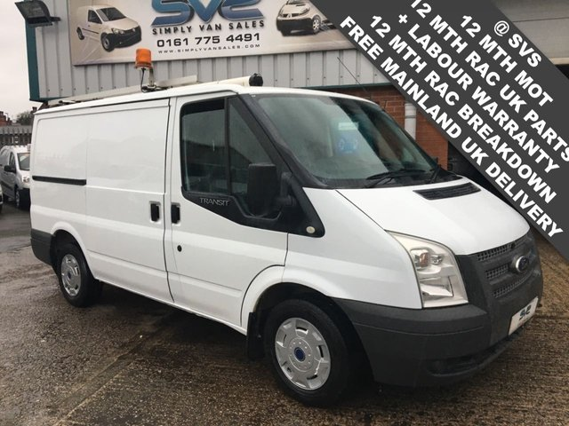 USED 2013 13 FORD TRANSIT 2.2 T300 SWB LOW ROOF *FSH* LOW 84K MILES TWIN SIDE DOORS