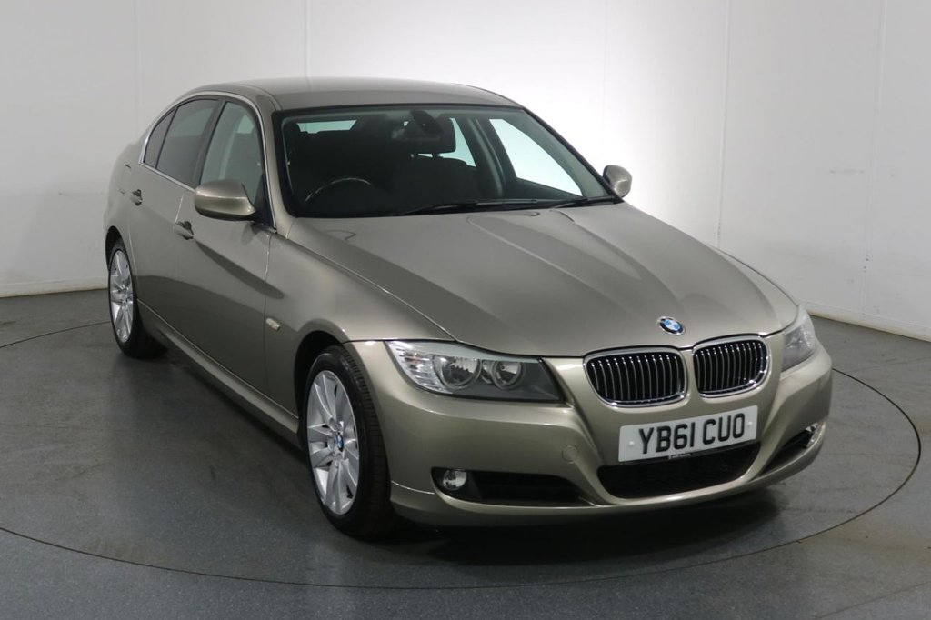 USED 2011 61 BMW 3 SERIES 3.0 325D SE 4d 202 BHP ONE OWNER with 5 Stamp SERVICE HISTORY