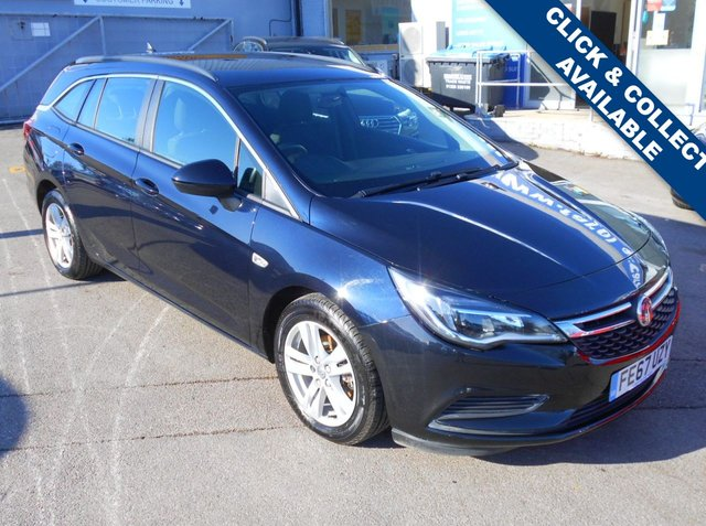 USED 2017 67 VAUXHALL ASTRA 1.6 TECH LINE NAV CDTI ECOTEC S/S 5d 108 BHP FANTASTIC CONDITION AND DRIVE