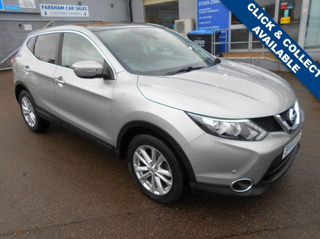 USED 2014 14 NISSAN QASHQAI 1.5 DCI ACENTA PREMIUM 5d 108 BHP FANTASTIC CONDITION AND DRIVE