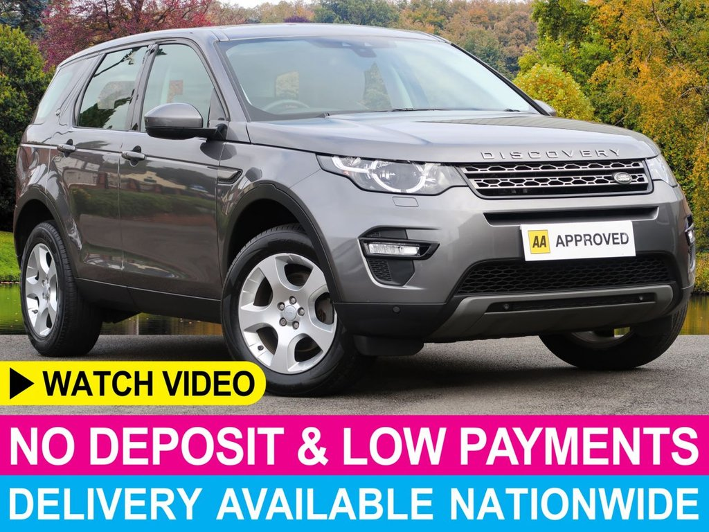 USED 2017 66 LAND ROVER DISCOVERY SPORT 2.0 TD4 SE Tech 4WD 5dr Sat Nav Sat Nav Park Climate Cruise