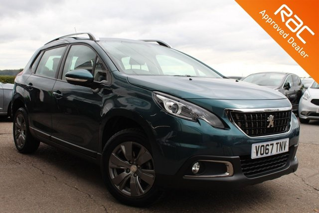 USED 2017 67 PEUGEOT 2008 1.2 PURETECH ACTIVE 5d 82 BHP VIEW AND RESERVE ONLINE OR CALL 01527-853940 FOR MORE INFO.