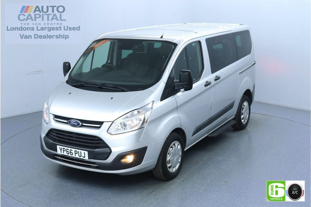 USED 2016 66 FORD TOURNEO CUSTOM 2.0 310 Zetec TDCI 130 BHP 9 Seats Minibus Euro 6  No VAT No VAT | 9 Seat | Air Con | Front-Rear parking sensors