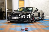 USED 2019 69 AUDI R8 5.2 V10 PERFORMANCE CARBON BLACK QUATTRO 2d 612 BHP One Owner   Incredible Spec
