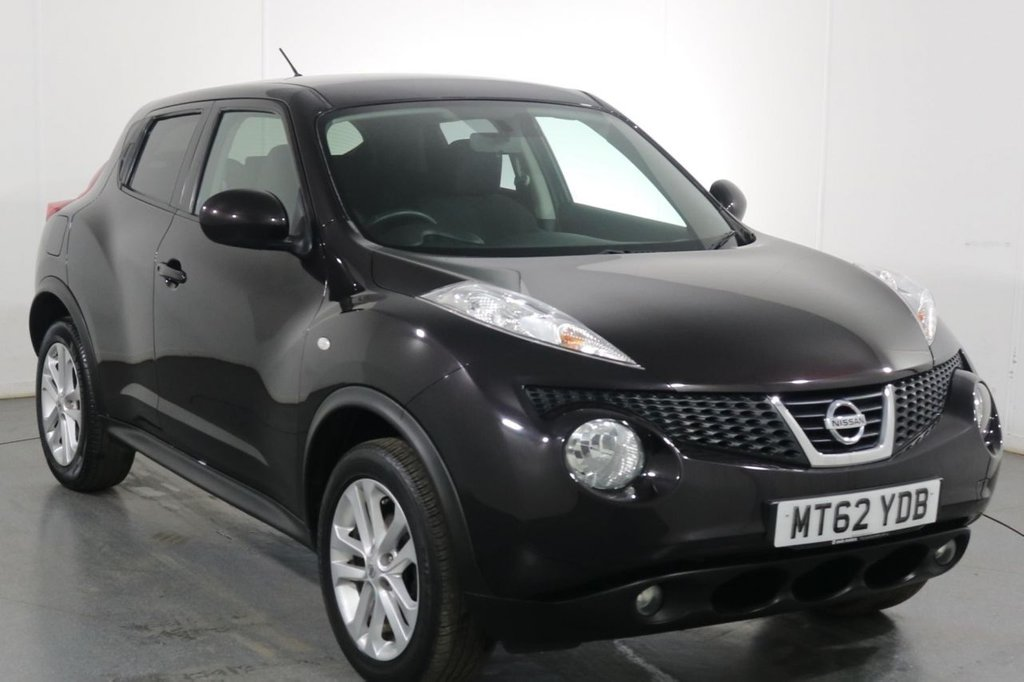USED 2012 62 NISSAN JUKE 1.6 ACENTA PREMIUM 5d 117 BHP 2 OWNERS with 8 Stamp SERVICE HISTORY