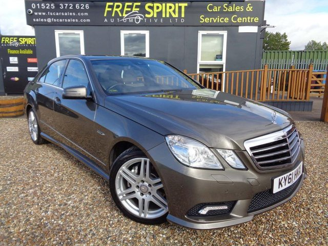 USED 2011 61 MERCEDES-BENZ E-CLASS 3.0 E350 CDI BlueEFFICIENCY Sport Edition 125 G-Tronic 4dr Nav, Leather, Bluetooth