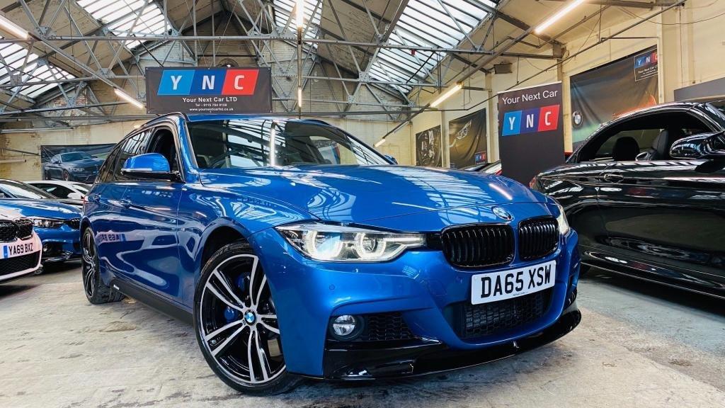 USED 2015 65 BMW 3 SERIES 3.0 335d M Sport Touring Auto xDrive (s/s) 5dr PERFORMANCEKIT+MPLUSPACK+19S
