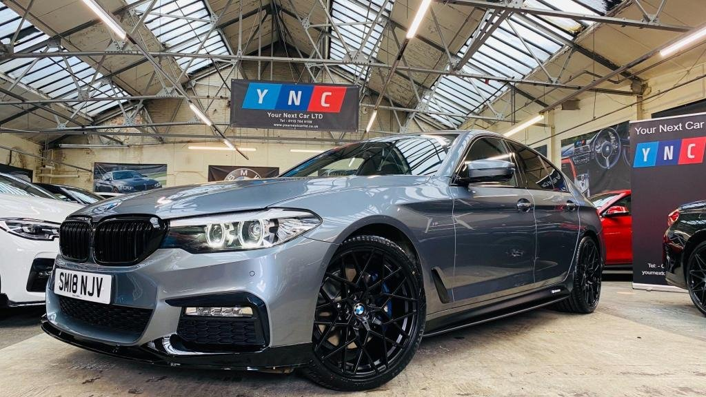 USED 2018 18 BMW 5 SERIES 3.0 530d M Sport Auto (s/s) 4dr PERFORMANCEKIT+20S+FDSH!+1OWN