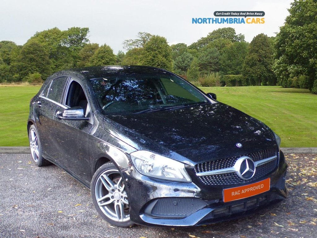 USED 2016 16 MERCEDES-BENZ A-CLASS 1.5 A 180 D AMG LINE 5d 107 BHP *****SAT NAV*****AMG LINE STYLING*****TINTED GLASS*****