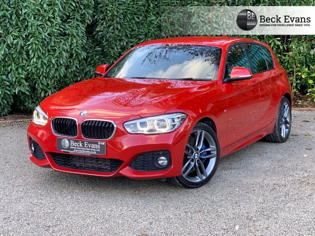 USED 2017 17 BMW 1 SERIES 2.0 120D M SPORT 5d 188 BHP FULL LEATHER