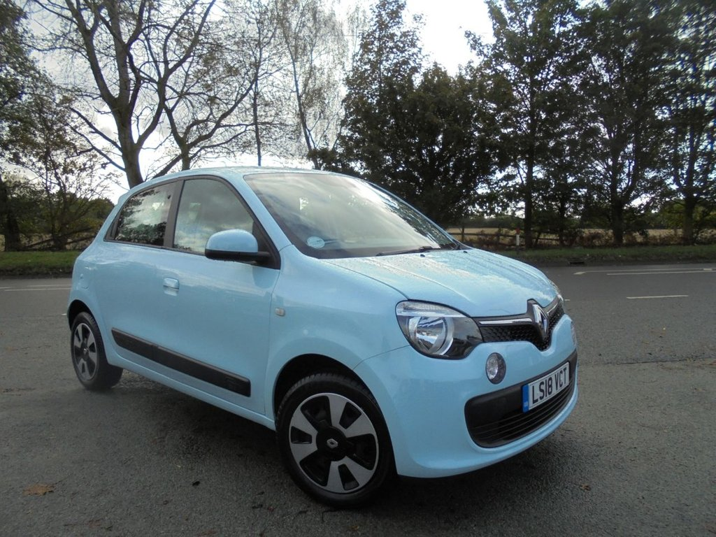 USED 2018 18 RENAULT TWINGO 1.0 PLAY SCE 5d 70 BHP