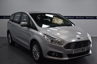 USED 2017 17 FORD S-MAX 2.0 ZETEC TDCI 5d 150 BHP (ONE OWNER - SAT NAV - 7 SEATS)