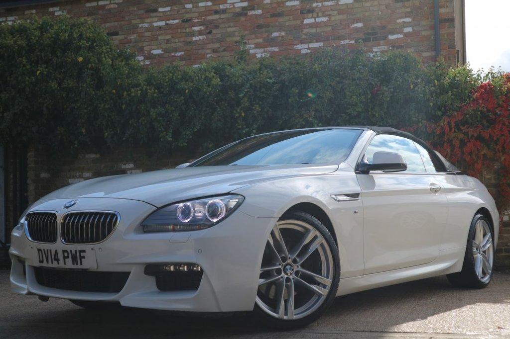 USED 2014 14 BMW 6 SERIES 3.0 640D M SPORT 2d 309 BHP