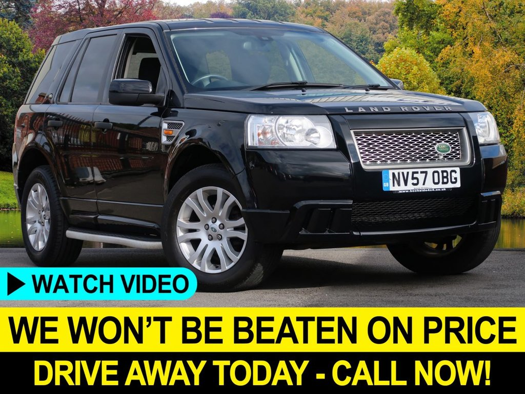 USED 2008 57 LAND ROVER FREELANDER 2.2 TD4 S 4WD 5dr Nav Bluetooth Sat Nav Bluetooth Side Steps