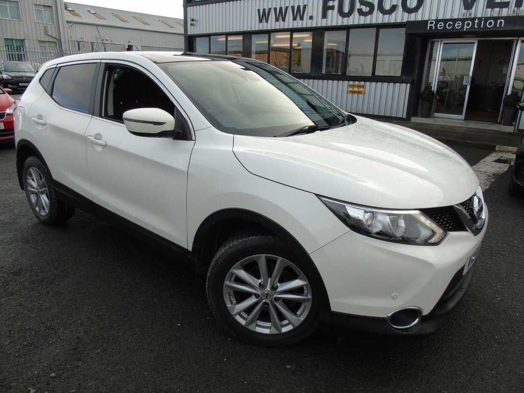 USED 2015 64 NISSAN QASHQAI 1.5 DCI ACENTA PLUS 5d 108 BHP £214 a month, T&Cs apply.
