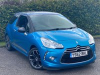 USED 2012 62 CITROEN DS3 1.6 E-HDI AIRDREAM DSPORT 3d 111 BHP **ALLOY WHEELS**CLIMATE CONTROL**