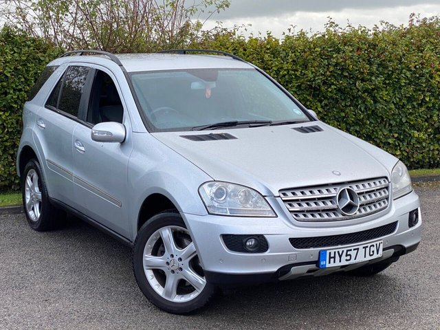 USED 2007 57 MERCEDES-BENZ M-CLASS 3.0 ML280 CDI EDITION S 5d 188 BHP ELECTRIS  HEATED SEATS