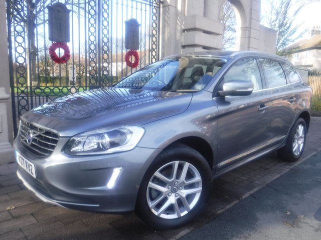 USED 2017 17 VOLVO XC60 2.4 D4 SE LUX NAV AWD 5d 187 BHP FULL LEATHER*NAV*CRUISE*BTOOTH*FULL SERVICE HISTORY*S/S