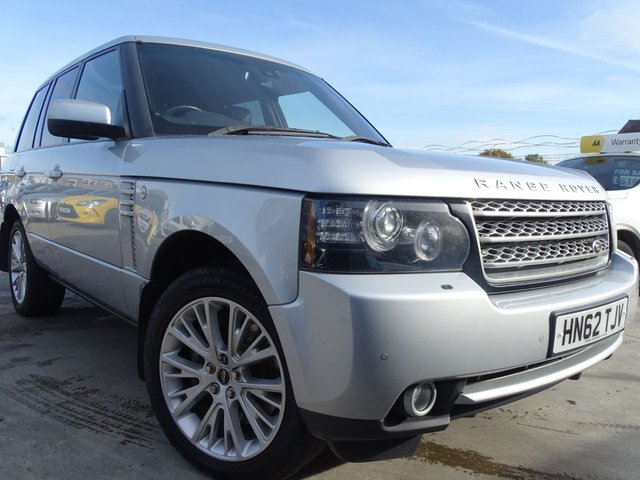 USED 2012 62 LAND ROVER RANGE ROVER 4.4 TDV8 WESTMINSTER 5d 313 BHP VERY CLEAN GRADE 1
