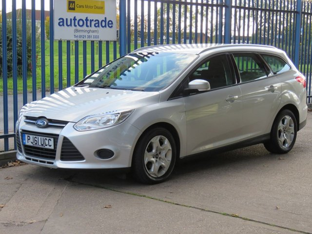 USED 2012 61 FORD FOCUS 1.6 EDGE TDCI 95 5d 94 BHP £20 ROAD TAX, BLUETOOTH AND USB, A/C DAB RADIO, BLUETOOTH WITH VOICE CONTROL, ALUMINIUM ROOF RAILS, AIR CONDITIONING, SERVICE HISTORY £20 ROAD TAX