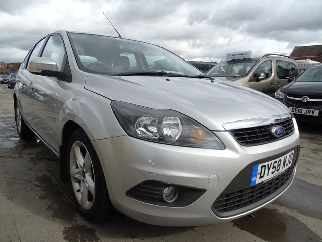 USED 2008 58 FORD FOCUS 1.8 ZETEC TDCI 5d 115 BHP CHEAP TAX