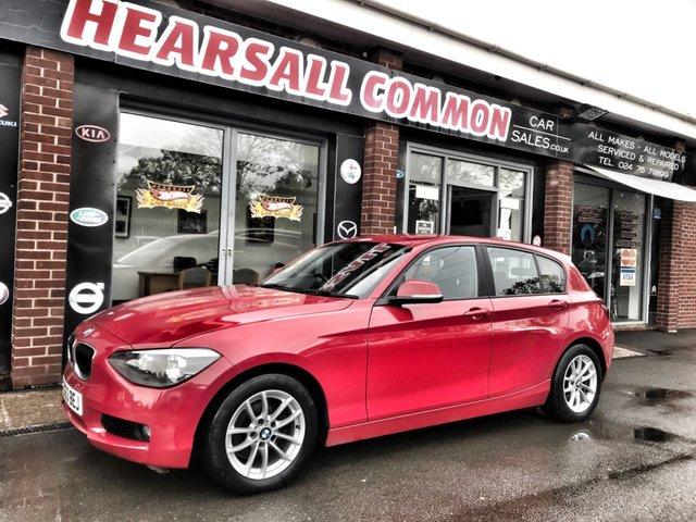 USED 2013 63 BMW 1 SERIES 1.6 116D EFFICIENTDYNAMICS 5d 114 BHP