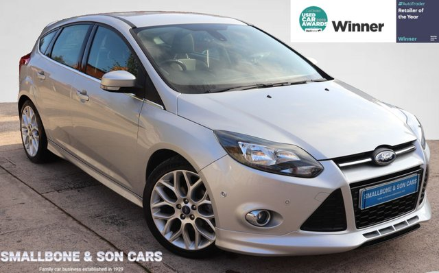 USED 2013 63 FORD FOCUS 1.6 ZETEC S TDCI 5d 113 BHP * BUY ONLINE * CONTACTLESS PURCHASE AVAILABLE *