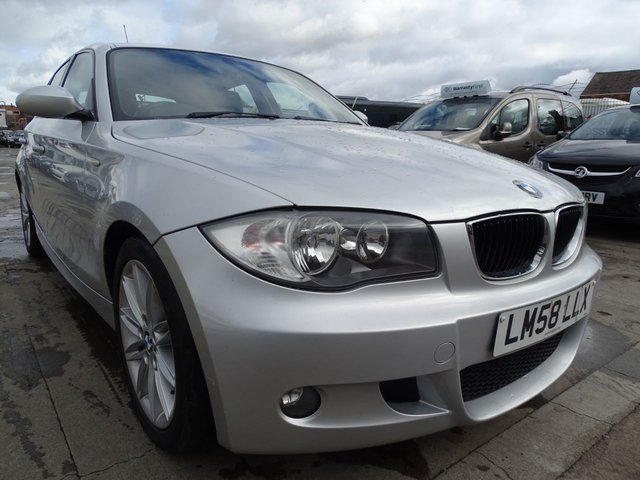 USED 2008 58 BMW 1 SERIES 2.0 118D M SPORT 5d 141 BHP NEW CLUTCH JUST DONE