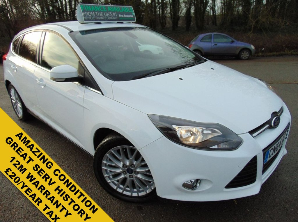 USED 2014 64 FORD FOCUS 1.6 ZETEC NAVIGATOR TDCI 5d 113 BHP FRESH SERVICE+MOT ON PURCHASE