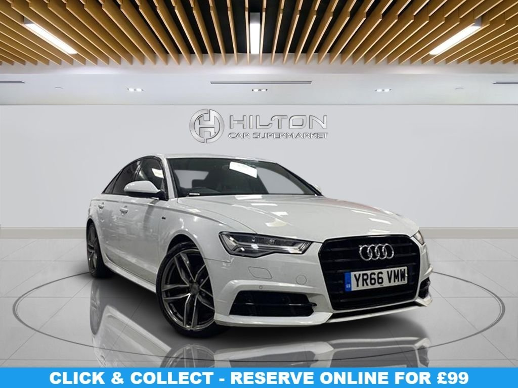 USED 2016 66 AUDI A6 2.0 TDI ULTRA BLACK EDITION 4d 188 BHP 20-inch Alloy Wheels, Satellite Navigation, Privacy Glass, Leather upholstery, Climate Control, Parking Sensor(s)