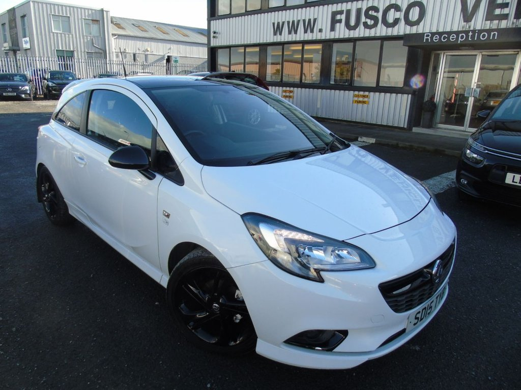 USED 2015 15 VAUXHALL CORSA 1.4 LIMITED EDITION 3d 89 BHP £113 a month, T&Cs apply.