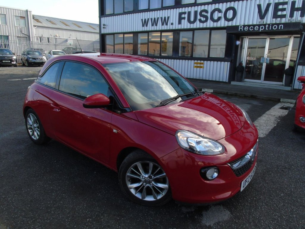 USED 2014 VAUXHALL ADAM 1.2 JAM 3d 69 BHP £111 a month, T&Cs apply.