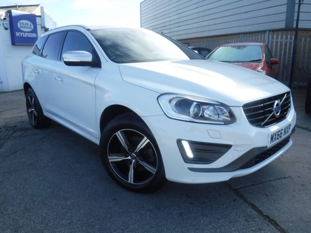 USED 2016 66 VOLVO XC60 2.4 D4 R-DESIGN LUX NAV AWD 5d 187 BHP FINANCE ARRANGED**PART EXCHANGE WELCOME**FULL LEATHER**6 SPEED**NAV**AWD**CRUISE**DAB**BLUETOOTH
